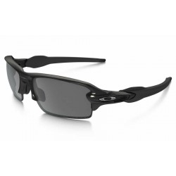 Flak 2.0 Polished Black / Black Iridium Polarized (OO9295-07)