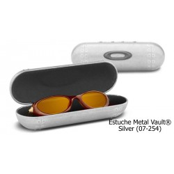 Oakley case Large Metal Vault Silver (07-255)