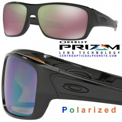 Turbine Polished Black / Prizm Shallow Water Polarized (OO9263-13)