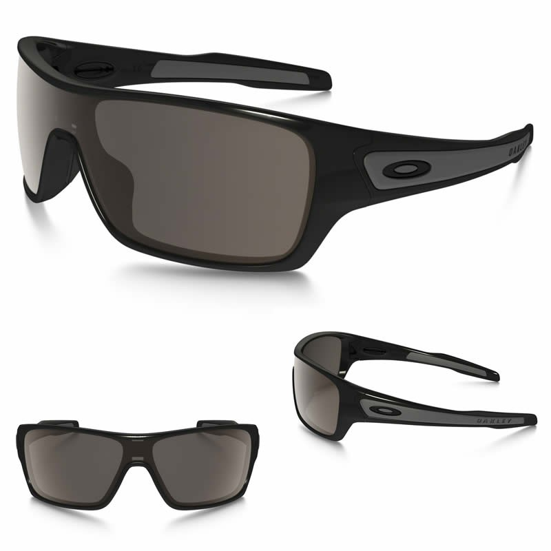 c3e419e6fa Sunglasses Oakley Turbine Rotor Polished Black / Warm Grey (OO9307-01)