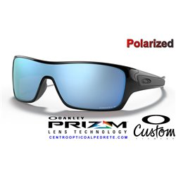 Turbine Rotor Polished Black / Prizm Deep Polarized (OO9307-08)
