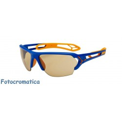 Cebe S TRACK Large CBSTL5 Matte Blue Orange / Vario Perfo + 1000 Clear