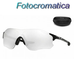 EVZero Path Polished Black / Clear Black Iridium Photochromic (OO9308-13)