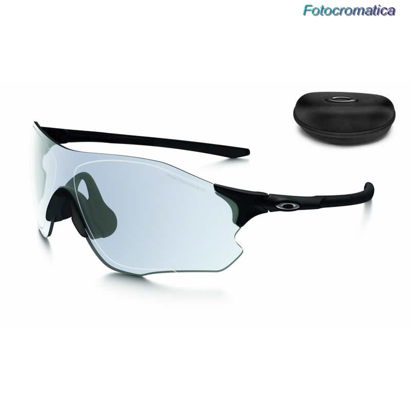 e5bd4c86776 ... EVZero Path Polished Black   Clear Black Iridium Photochromic  (OO9308-13) ...