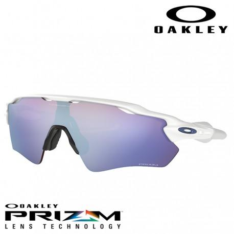 8cf4b74d23 Sunglasses oakley Radar EV Path Polished White   Prizm Snow Sapphire  Iridium (OO9208-47)