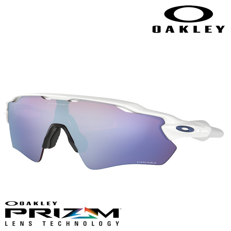 Sunglasses Radar EV Path Polished White   Prizm Snow Sapphire Iridium  (OO9208-47) 7aa85f607c