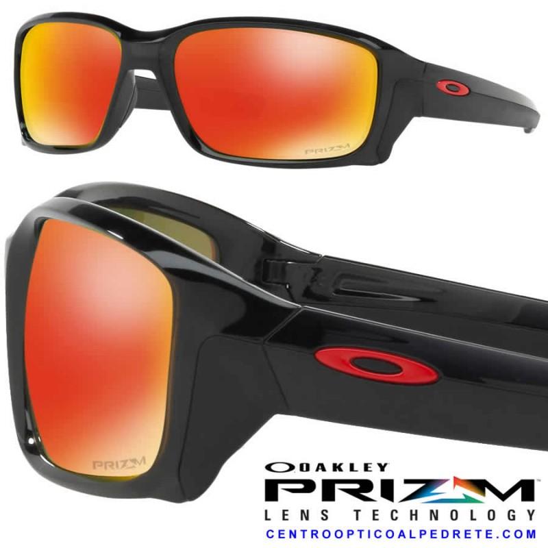 a6e2206b8f Oakley Sunglasse StraightLink Black Ink / Prizm Ruby (OO9331-15)