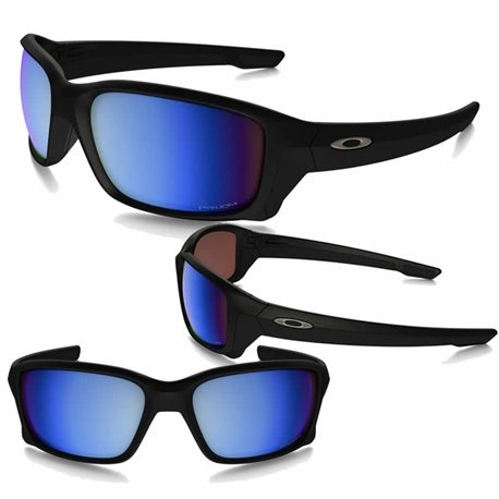 StraightLink Matte Black / Prizm Deep Polarized (OO9331-05)