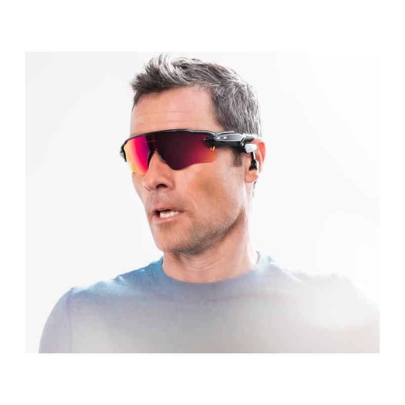 Sunglasses Oakley Radar Pace Path Polished Black / Prizm ...