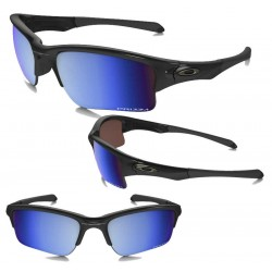 Quarter Jacket Polished Black / Prizm Deep Polarized (OO9200-16)