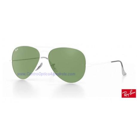 Lentes de repuesto Ray-Ban Aviator Large Metal / Lente Light Green (RB3025-001/14)