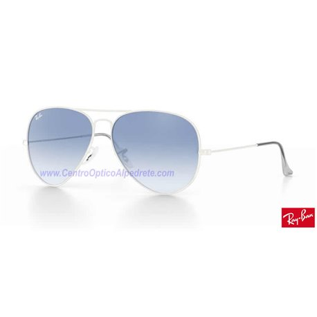 Lentes de repuesto Ray-Ban Aviator Large Metal / Lente Light Blue Gradient (RB3025-001/3F)