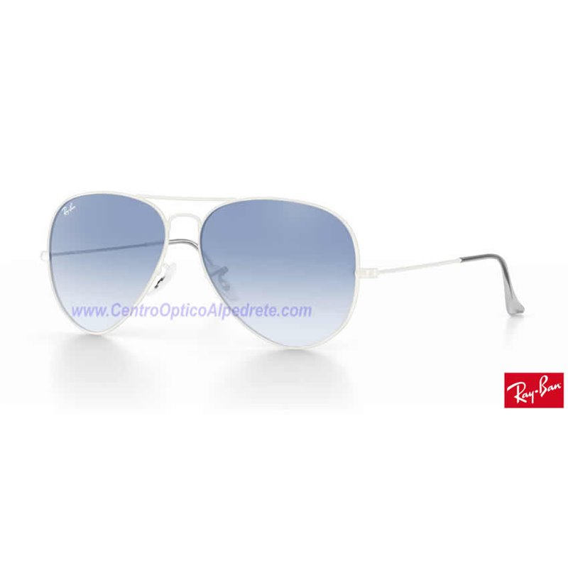 f4883db0f Lentes de repuesto Ray-Ban Aviator Large Metal / Lente Light Blue Gradient ( RB3025