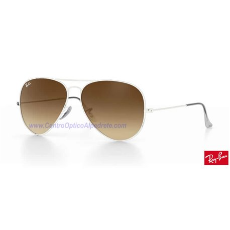 Lentes de repuesto Ray-Ban Aviator Large Metal / Lente Brown Gradient (RB3025-001/51)