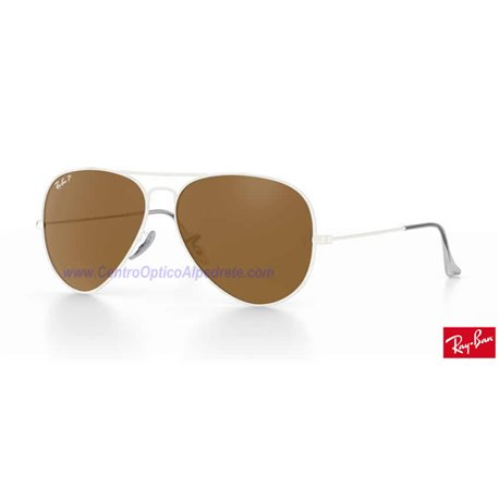 Lentes de repuesto Ray-Ban Aviator Large Metal / Lente Brown Polarized (RB3025-001/57)