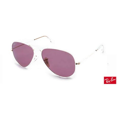 Lentes de repuesto Ray-Ban Aviator Large Metal / Lente Pink Polarized (RB3025-001/15)