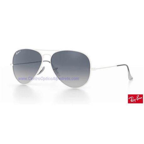 Lentes de repuesto Ray-Ban Aviator Large Metal / Lente Blue Grey Gradient Polarized (RB3025-001/78)