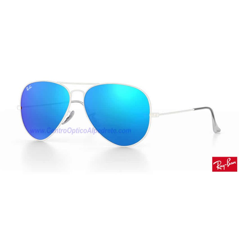 2a7eec59f Lentes de repuesto Ray-Ban Aviator Large Metal / Lente Blue Flash (RB3025-