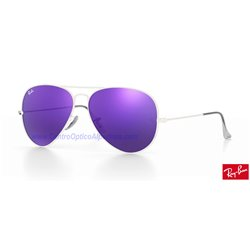 Lentes de repuesto Ray-Ban Aviator Large Metal / Lente Violet Mirror (RB3025-167/1M)