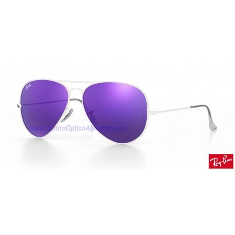 Lentes de repuesto Ray-Ban Aviator Large Metal / Lente Violet Mirror (RB3025-167/1M)