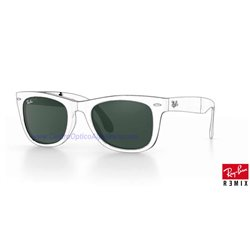 Lentes de repuesto Ray-Ban Folding WayFarer/ Lente Green G-15 (RB4105-601)
