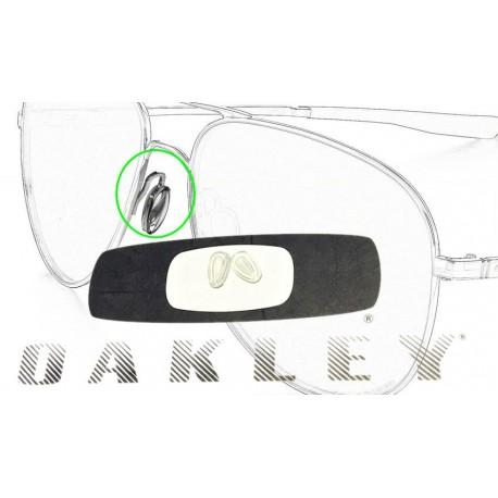 Couple of nasal original Oakley for frames in metal (100-014-001)