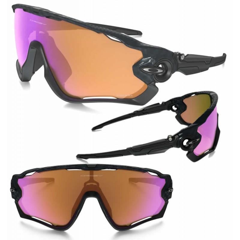 Oakley Jawbreaker Prizm >> Oakley sport sunglasses Jawbreaker Carbon Fiber/ Prizm Trail (OO9290-25)