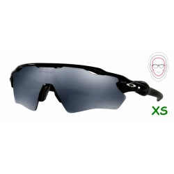 229f47848b Radar EV XS Path Polished Black / Black... Gafa deportiva tipo ciclismo con  lentes intercambiables.