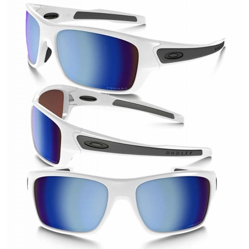 fe1b226462 Sunglasses Oakley Turbine XS Polished White   Prizm Deep Polarized  (OJ9003-07)