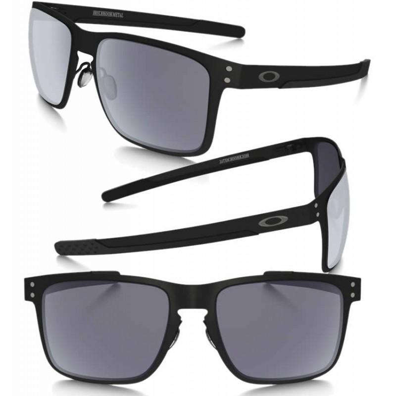 Gafa de sol Oakley Holbrook Metal Black Grey OO4123-01  b10c11fafea
