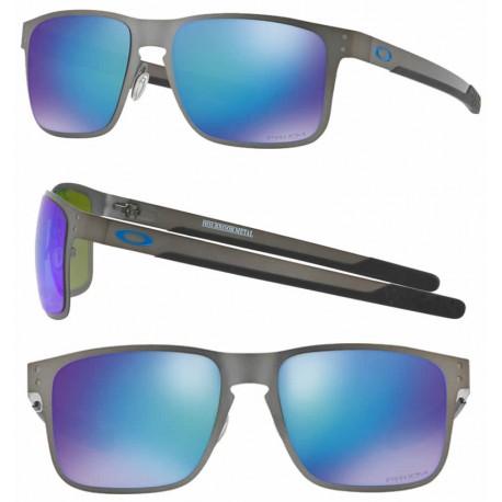 365df9b502 Sunglasses Oakley Holbrook Metal Matte GunMettal / Prizm Sapphire Polarized  (OO4123-07)
