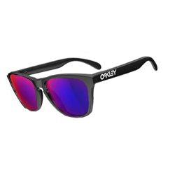 Frogskins Custom Matte Black / Positive Red Iridium (24-403Custom)