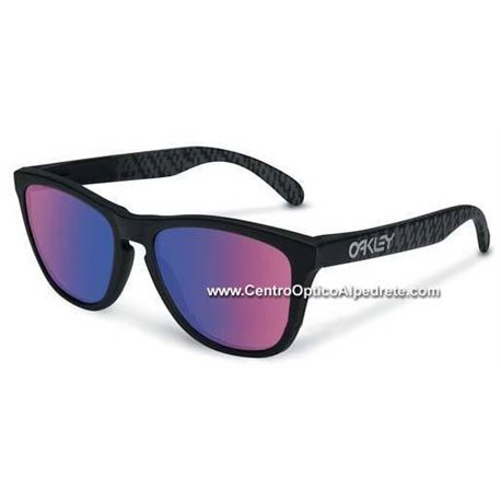 Frogskins Soft Touch Carbon / Positive Red Iridium (24-399)