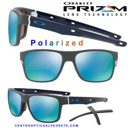 CrossRange Matte Dark Grey / Prizm Deep Water Polarized (OO9361-09)