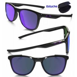 62cb9c5348 Oakley Sunglasses Trillbe X Polished Black   Ruby Iridium (OO9340-02)