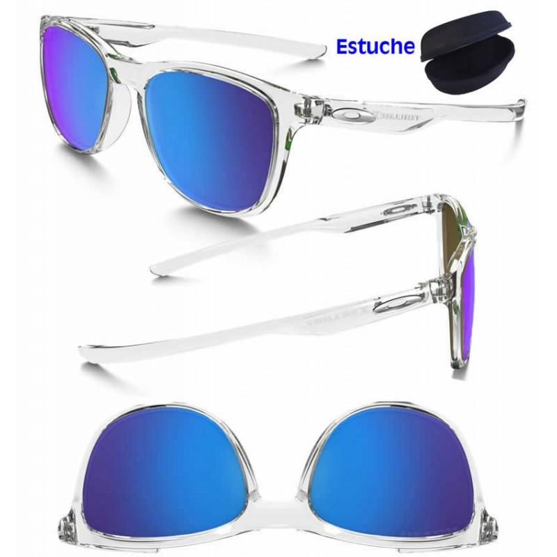 1cbaec4d01 Oakley Sunglasses Trillbe X PolisClear Sapphire Polarized OO9340-05