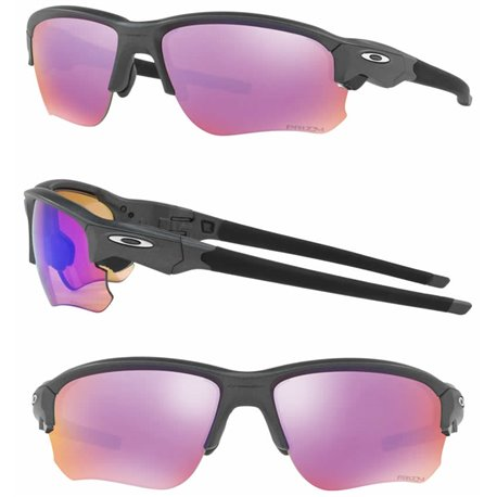 33b4d84e116 Sunglasses Oakley Flak Steel   Prizm Golf (OO9364-04)