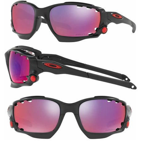 65e1b08d7f Oakley Sunglasses Racing Jacket Matte Black   Prizm Road (OO9171-37)