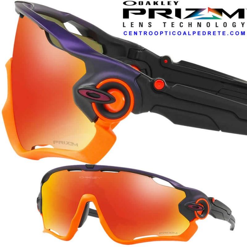6ebf44514dd Oakley sport sunglasses Jawbreaker Purple Pop Fade   Prizm Ruby ...