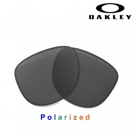 MoonLighter lente Black Iridium Polarized (OO9320-05L)