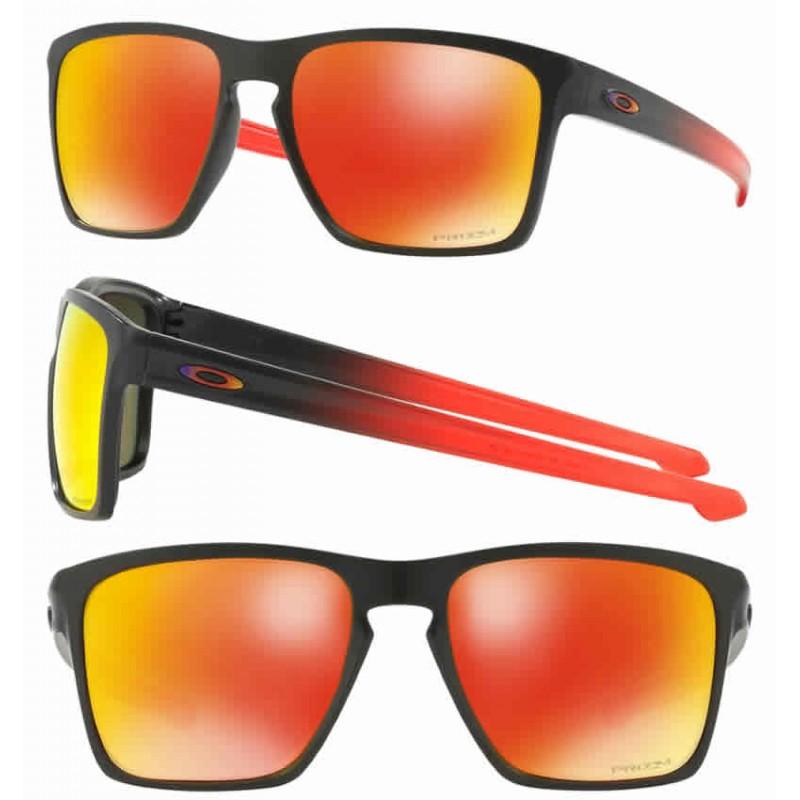 38165b1be6 Sunglasses Oakley Sliver XL Matte Black Fade   Prizm Ruby (OO9341-14)