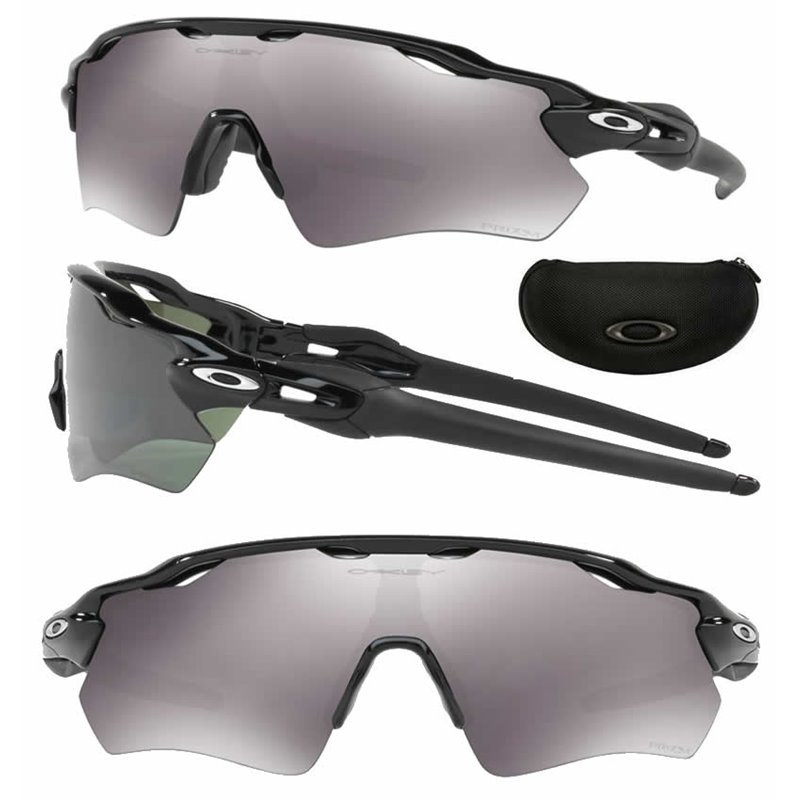 3f43835287dfb Sunglasses Radar EV Path Polished Black   Prizm Black (OO9208-52)