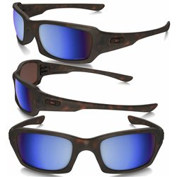 Fives Squared Matte Tortoise / Prizm Deep Water Polarized (OO9238-17)