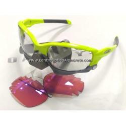 Racing Jacket Custom Retina Burn / Clear Black Iridium Photochromic (OO9171-39FT)