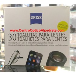 Zeiss Cleaning Wipes for Lenses (5988)