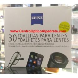 Zeiss Toallitas de limpieza para lentes (5988)