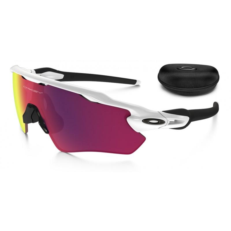 7ceae4dfdf Sunglasses Radar EV Custom Path Polished White / Prizm Road (OO9208 ...