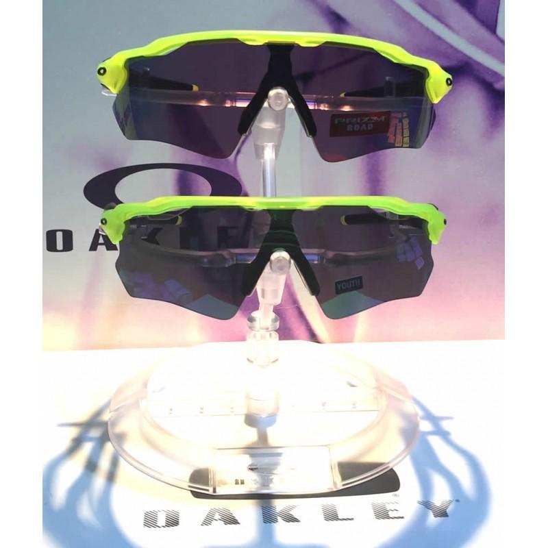 700a4d0deb Sunglasses Radar EV XS Custom Matte Uranium / Prizm Road (OJ9001-5999)