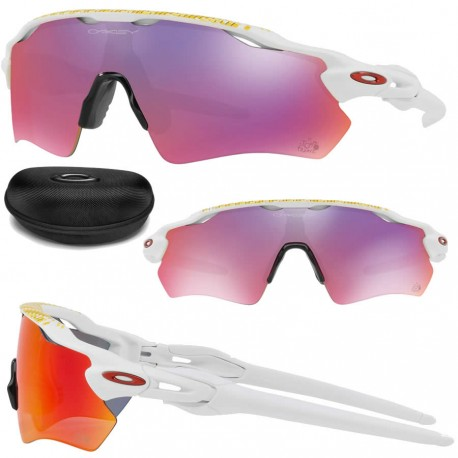 6b49bb8e65 Sunglasses Radar EV Path Tour de France Polished White   Prizm Road  (OO9208-50)