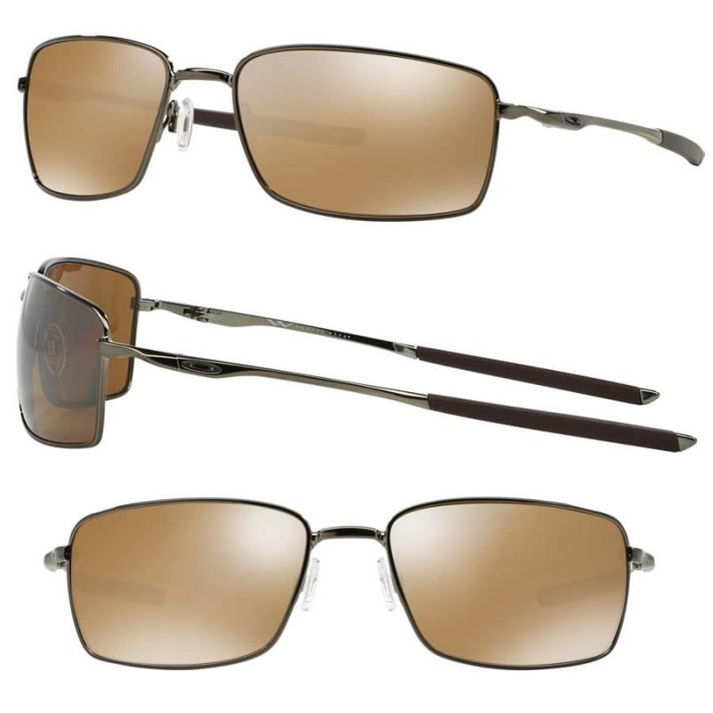 9647527e23 Sunglasses Square Wire Tungsten   Tungsten Iridium Polarized (OO4075 ...